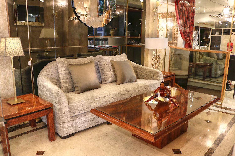 Les plus beaux canapés -magasin de canapé, table basse Madélia Paris