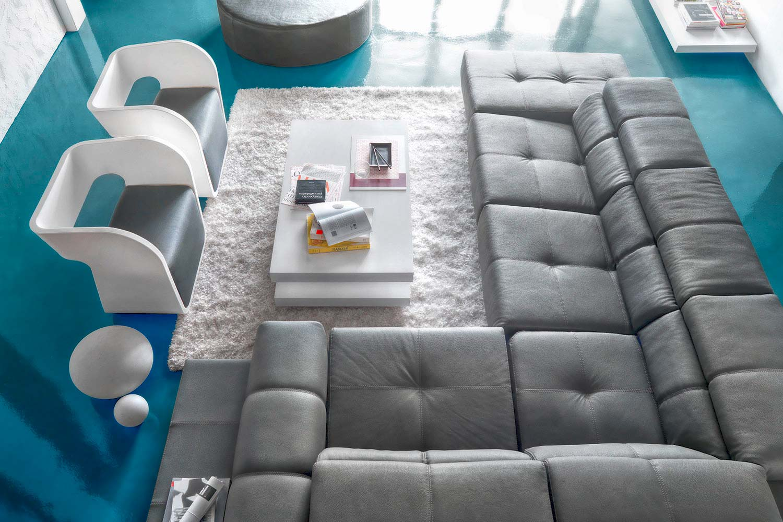Canapé d angle confortable,  Madelia Paris
