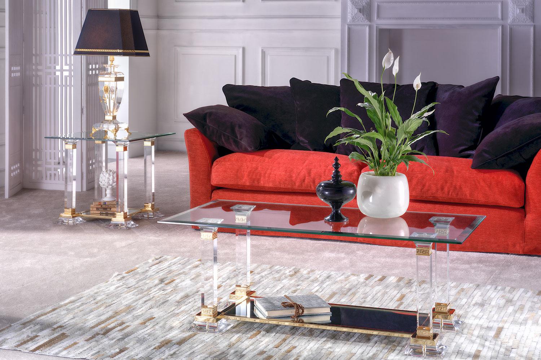 Table basse transparente Madélia Paris