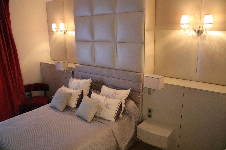 la plus belle chambre à coucher Madélia - réalisation sur mesure mobilier de luxe Paris