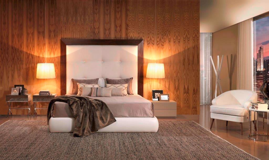 Chambre à coucher, la plus belle tete de lit Madelia