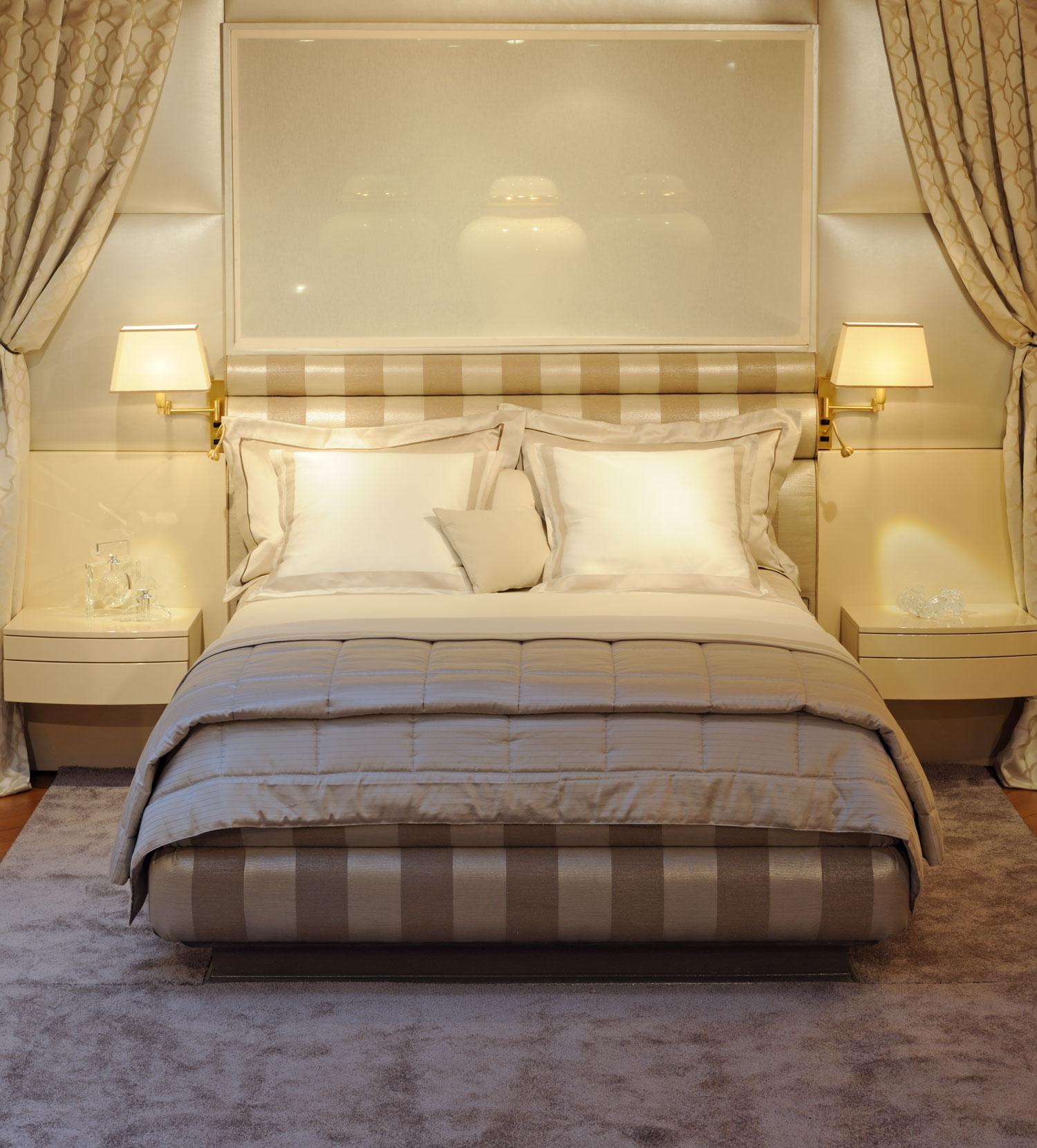 mobilier de luxe Paris- chambre à coucher - Madélia