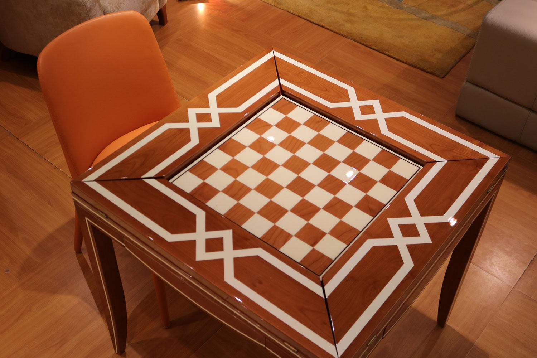 Mobilier de luxe Paris -Table à jeux Madélia