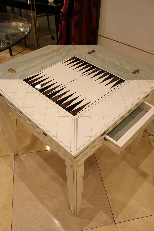 Table à jeux mobilier de luxe Madélia-Paris