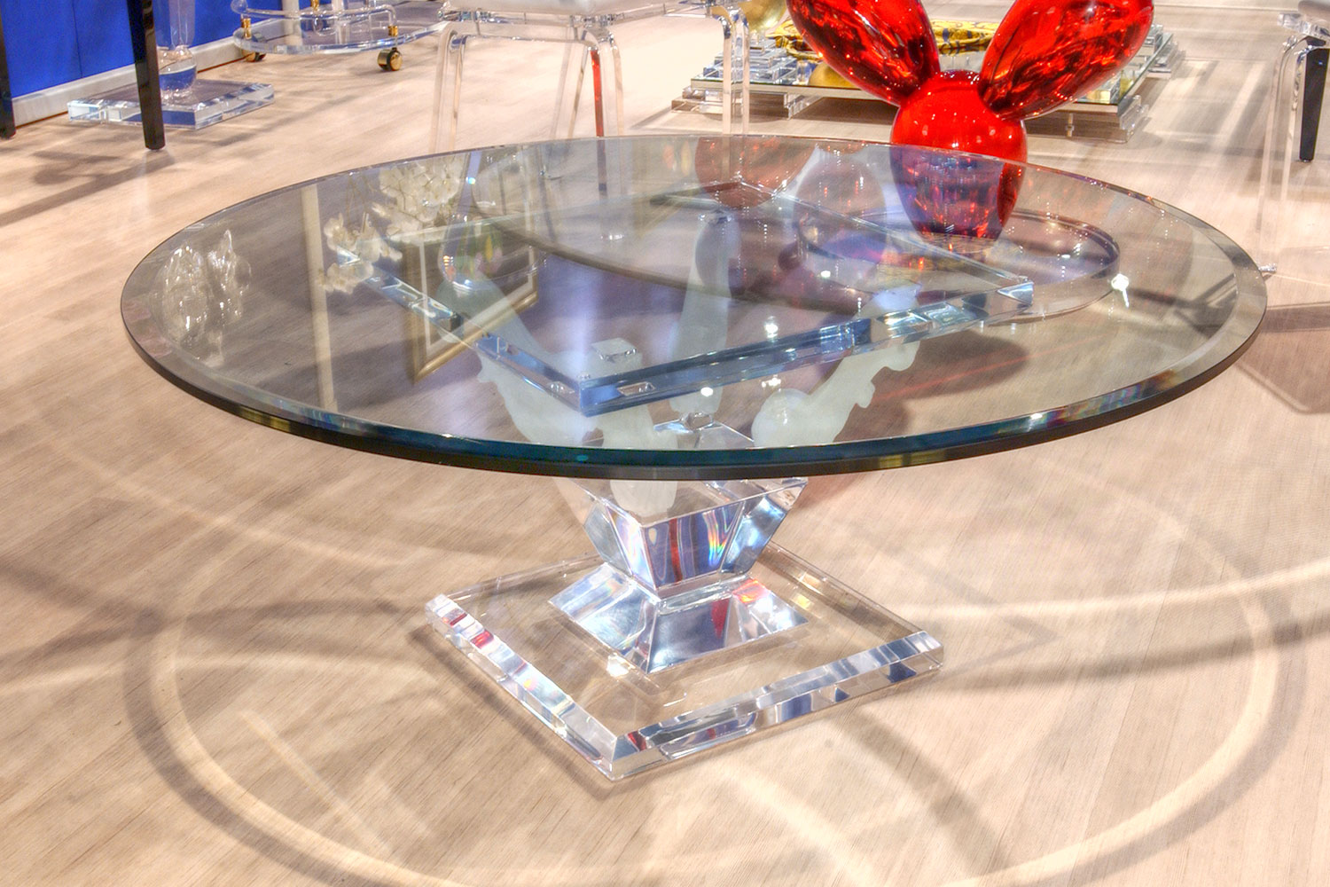 Table basse transparente Madélia Paris Mobilier de luxe Paris