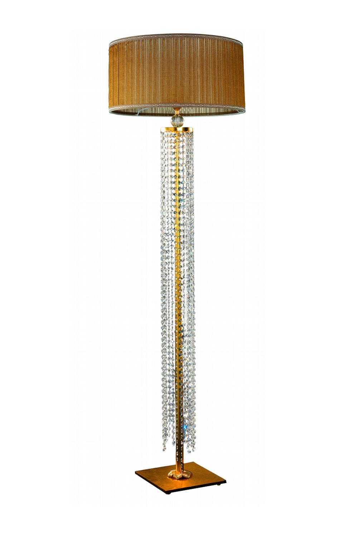 Lampadaire Madélia-Paris Luminaire de luxe Cristal et doré
