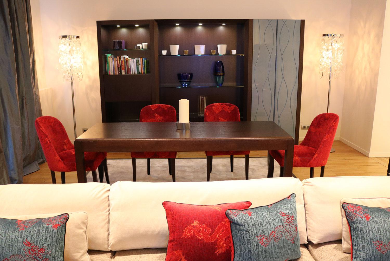 Mobilier de luxe Paris- Bibliothèque, meuble de rangement composable Madelia