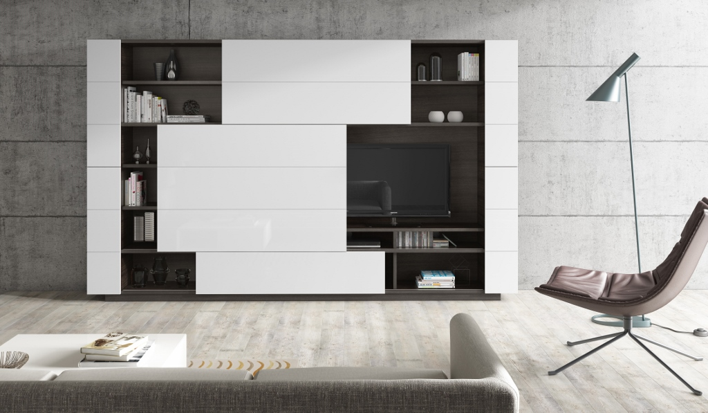 biblioth que meuble de rangement haut mobiler de luxe. Black Bedroom Furniture Sets. Home Design Ideas