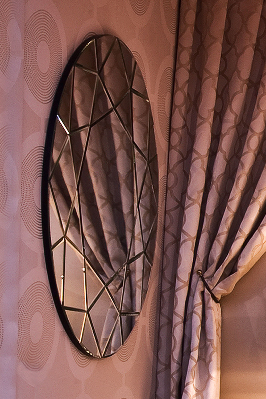 Miroir rond Madélia-Paris