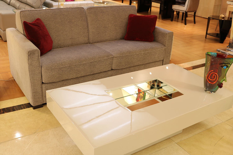 la plus belle table basse- rectangulaire avec ou sans bac ou tiroirs Madélia Paris
