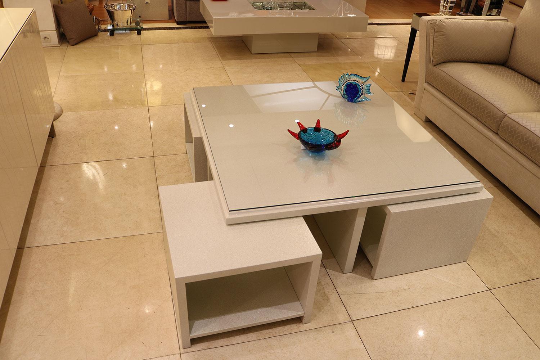 Table basse avec sous table gigogne Madélia Paris
