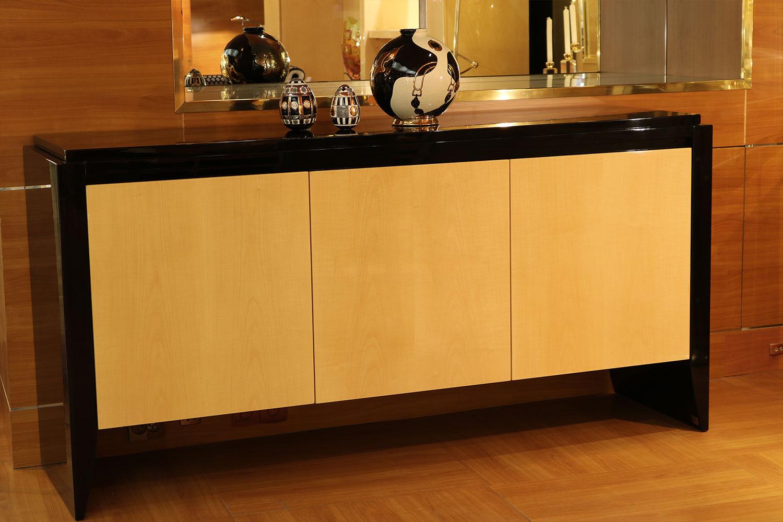 Mobilier de luxe Paris -meuble de rangement 3 portes - Madelia