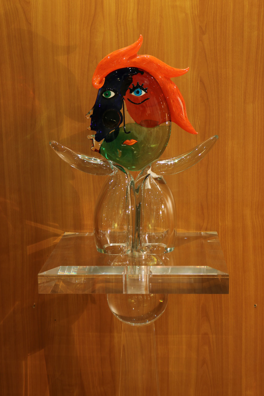 sculpture  pate de verre de venise  style Dora - Madelia-paris