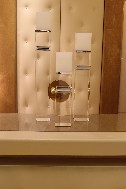bougeoir chandelier design -Madelia- objets de luxe Paris