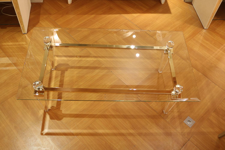 Table basse transparente Madelia Paris