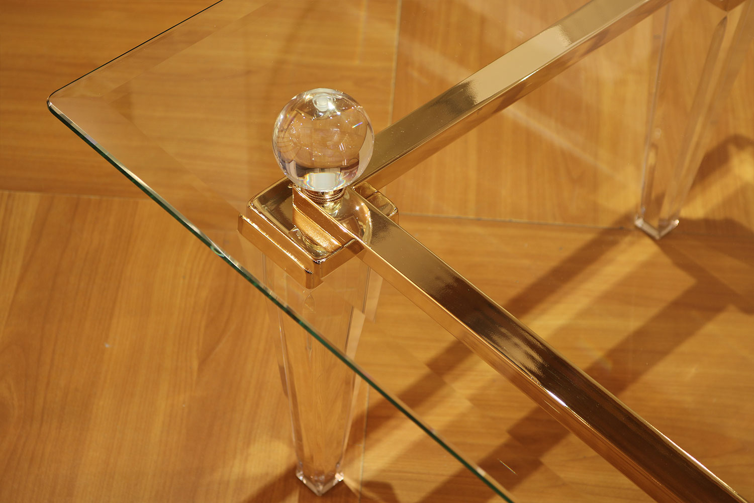 Table basse transparente, métacrylate  Madelia Table basse  transparente Madelia - Mobilier de luxe Paris