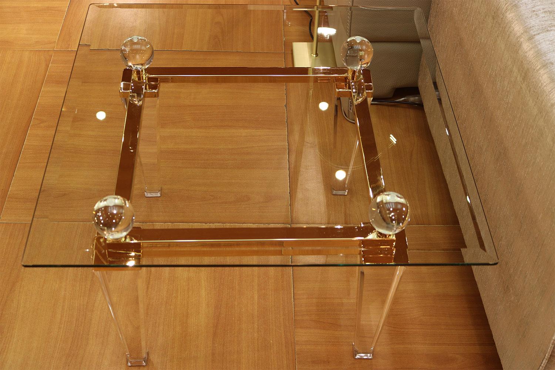 Tables basse transparente Madelia Paris