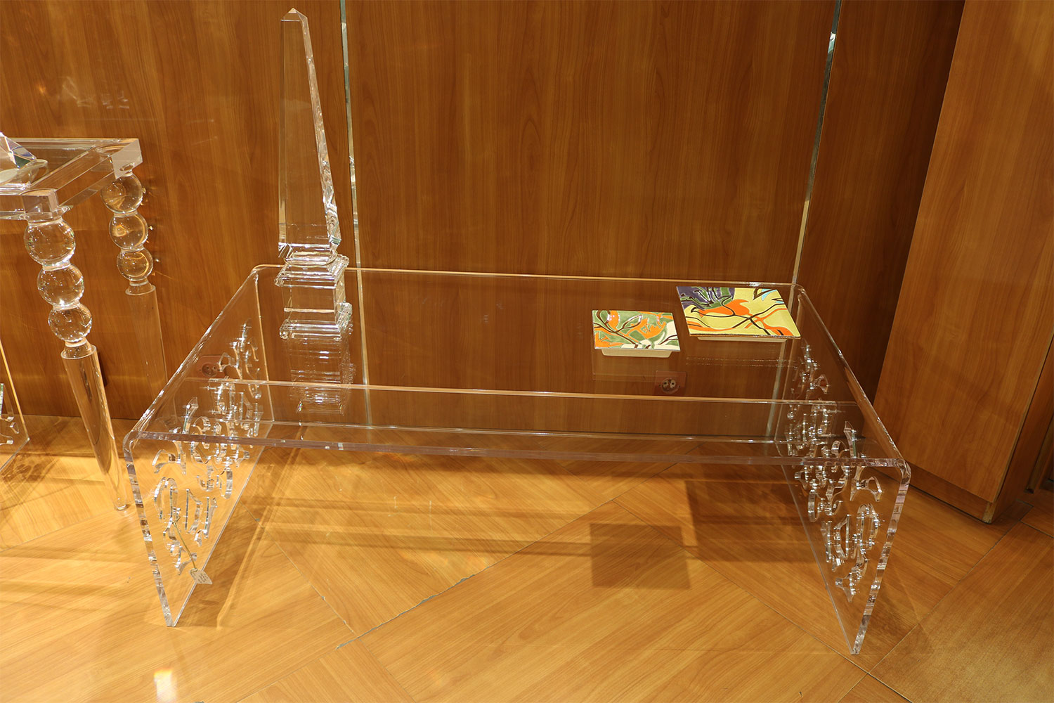 Mobilier Transparent Meuble Transparent Table Objet M Thacrylate