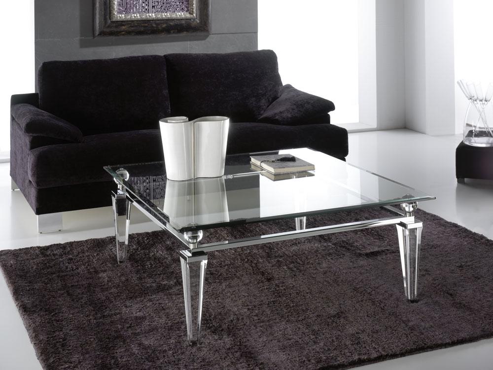Tables basse transparente Madelia Paris Meubles de luxe