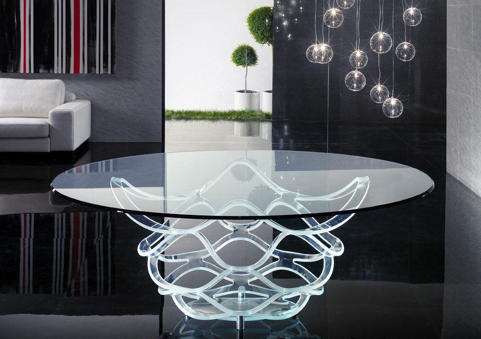 Découvrez le mobilier transparent
