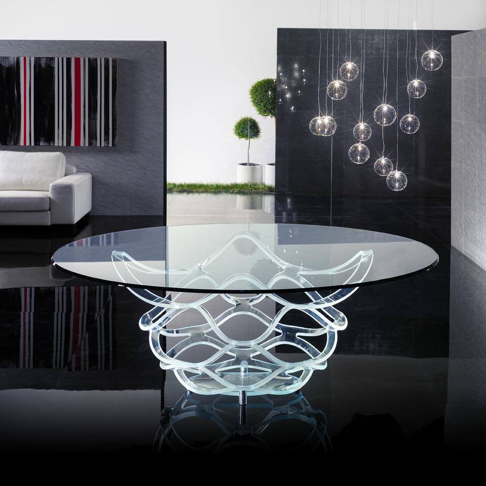 Mobilier Transparent table magasin de meuble 16 arrondissement Paris