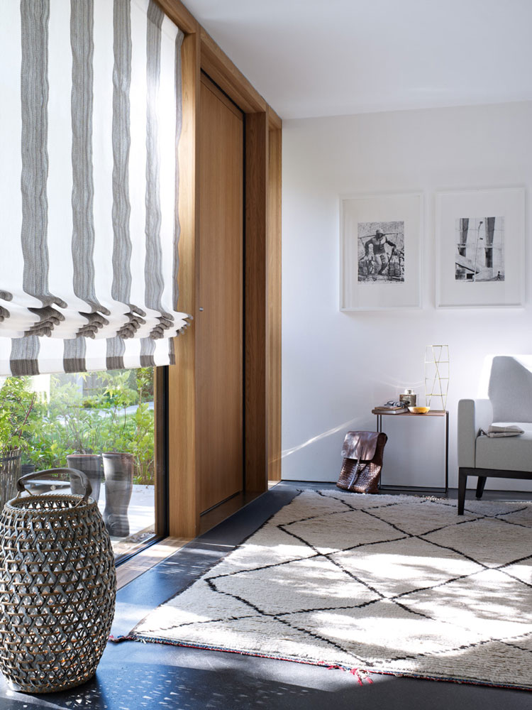 Custom curtains nets ans blinds - Madélia Furniture and Interior design Paris
