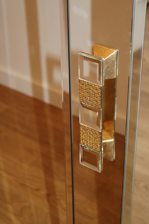 Poignée en miroir et doré haut de gamme- MADELIA