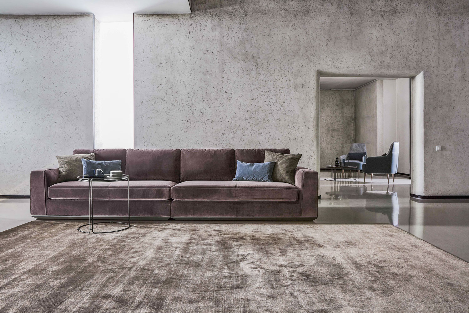 Cannapé Sofa Low Luxury Madélia Paris