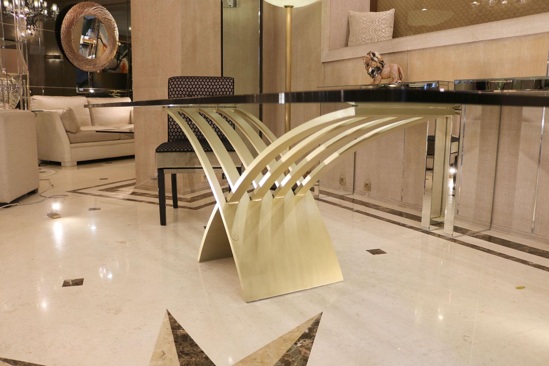 Mobilier de luxe Paris -table salle à manger - Madelia