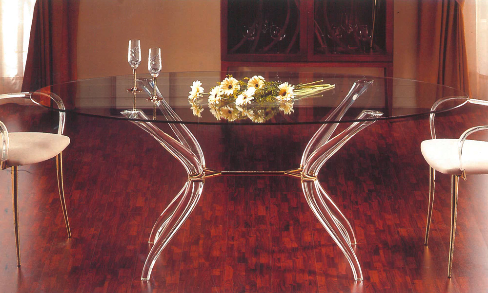 La table VENICE : la transparence optimale.